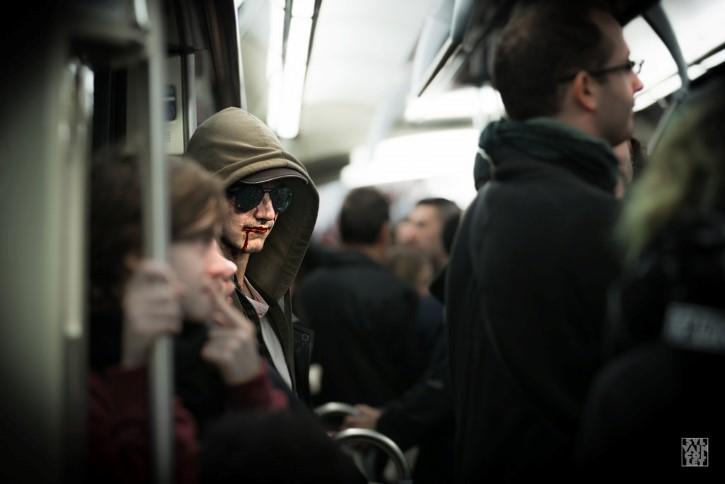 asesino serial en el metro