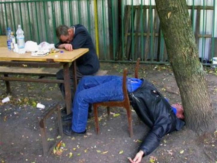borracho en rusia