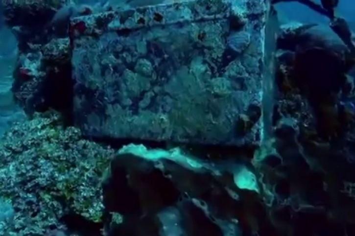 Cajon Submarino Plablo Escobar