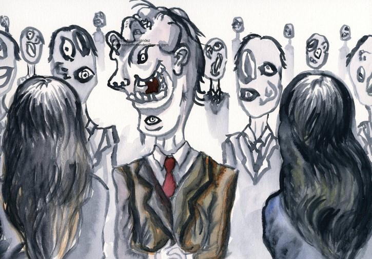 Caras Arte Prosopagnosia