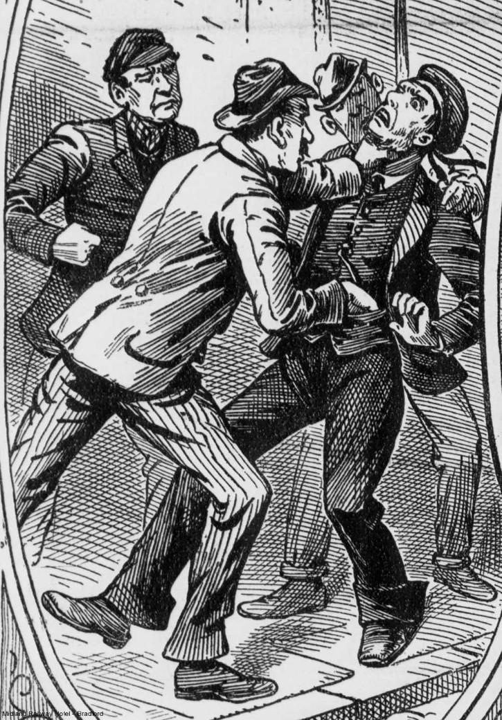 Casos De Garrote En Londres Ilustracion
