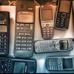 celulares antiguos coleccion portada