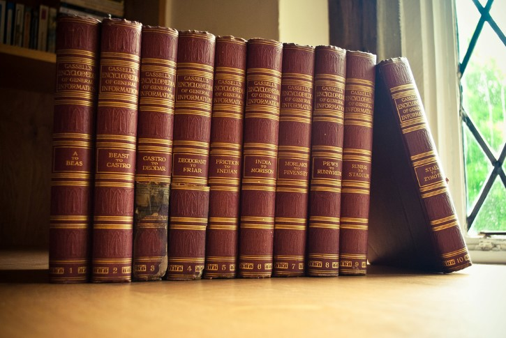 enciclopedias antiguas