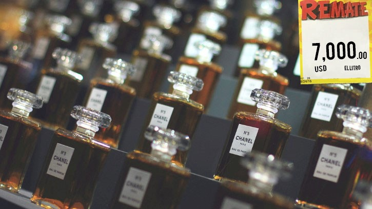 frascos de perfume chanel N 5