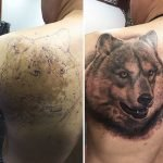 Tatuajes increíbles que transforman marcas de nacimiento en obras artísticas