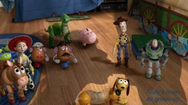 Montaje De Toy Story