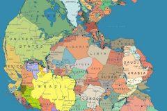 Pangea Paises Central