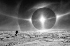 Parhelio En La Antartida