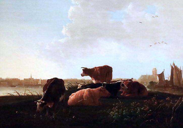 pintura ganado