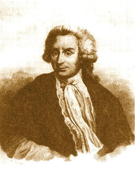 retrato de Luigi Galvani grabado
