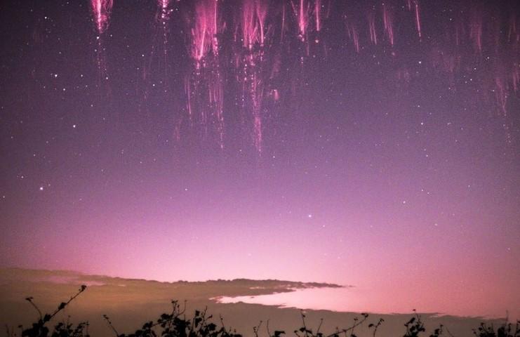 sprite luces en el cielo