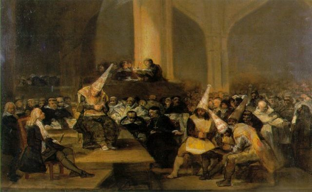 Francisco Goya Inquisicion