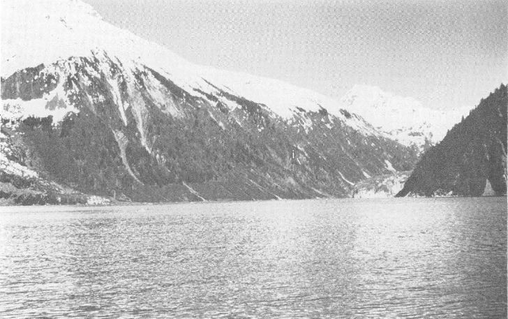 Bahia lituya trimline en 1952