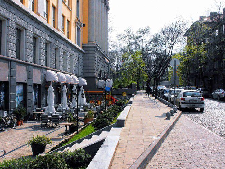 Calles de sofia, bulgaria