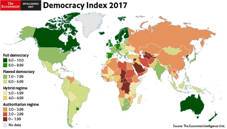 Indice Democracia 2017