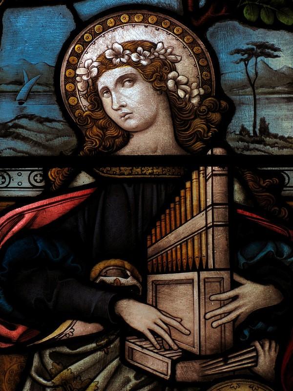 Santa cecila patrona musica
