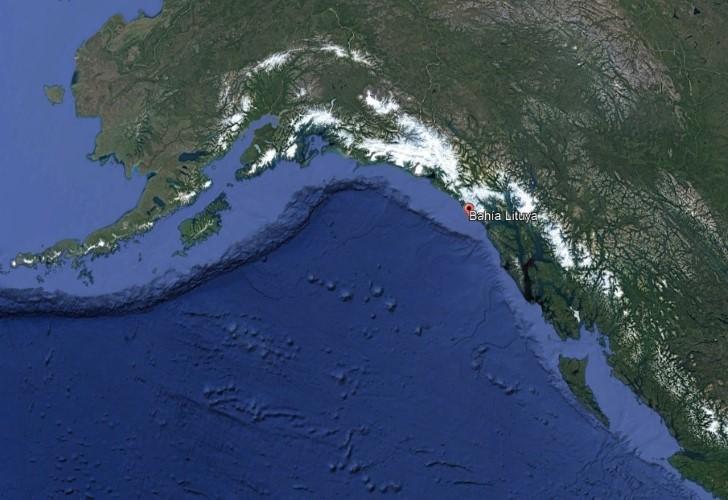 Ubicacion bahia lituya google maps