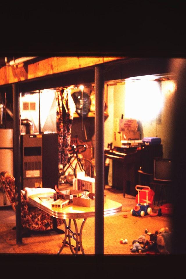Vista del sotano de los tallman en 1988