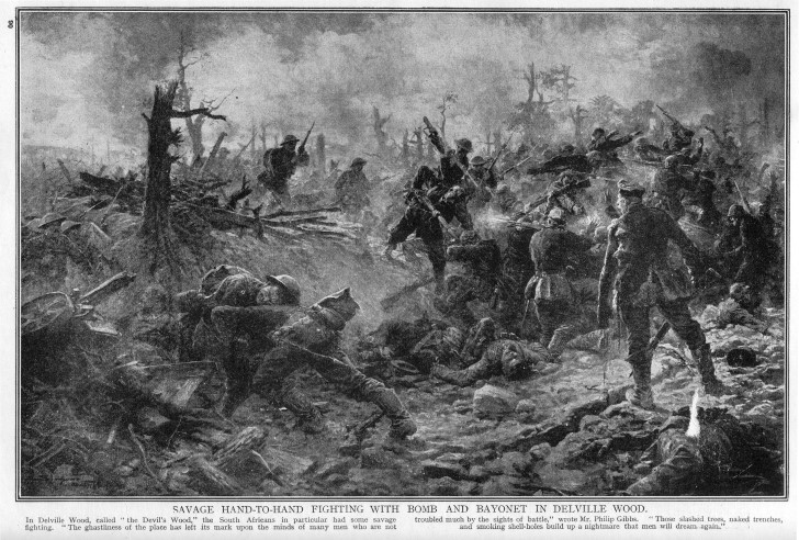 Batalla delville wood 1916
