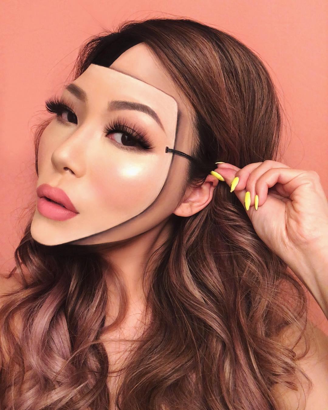Mimi choi maquillaje ilusion optica (11)