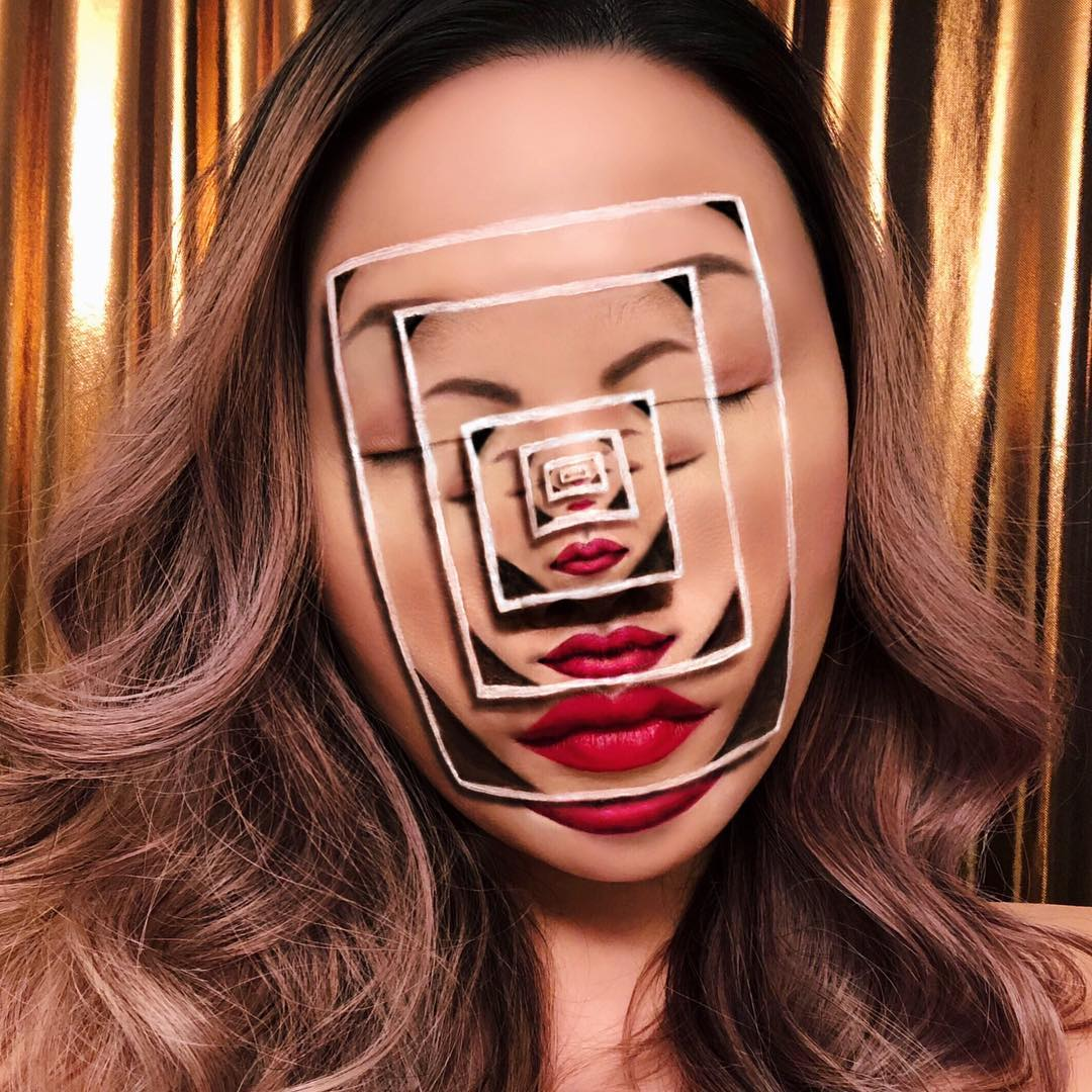 Mimi choi maquillaje ilusion optica (18)