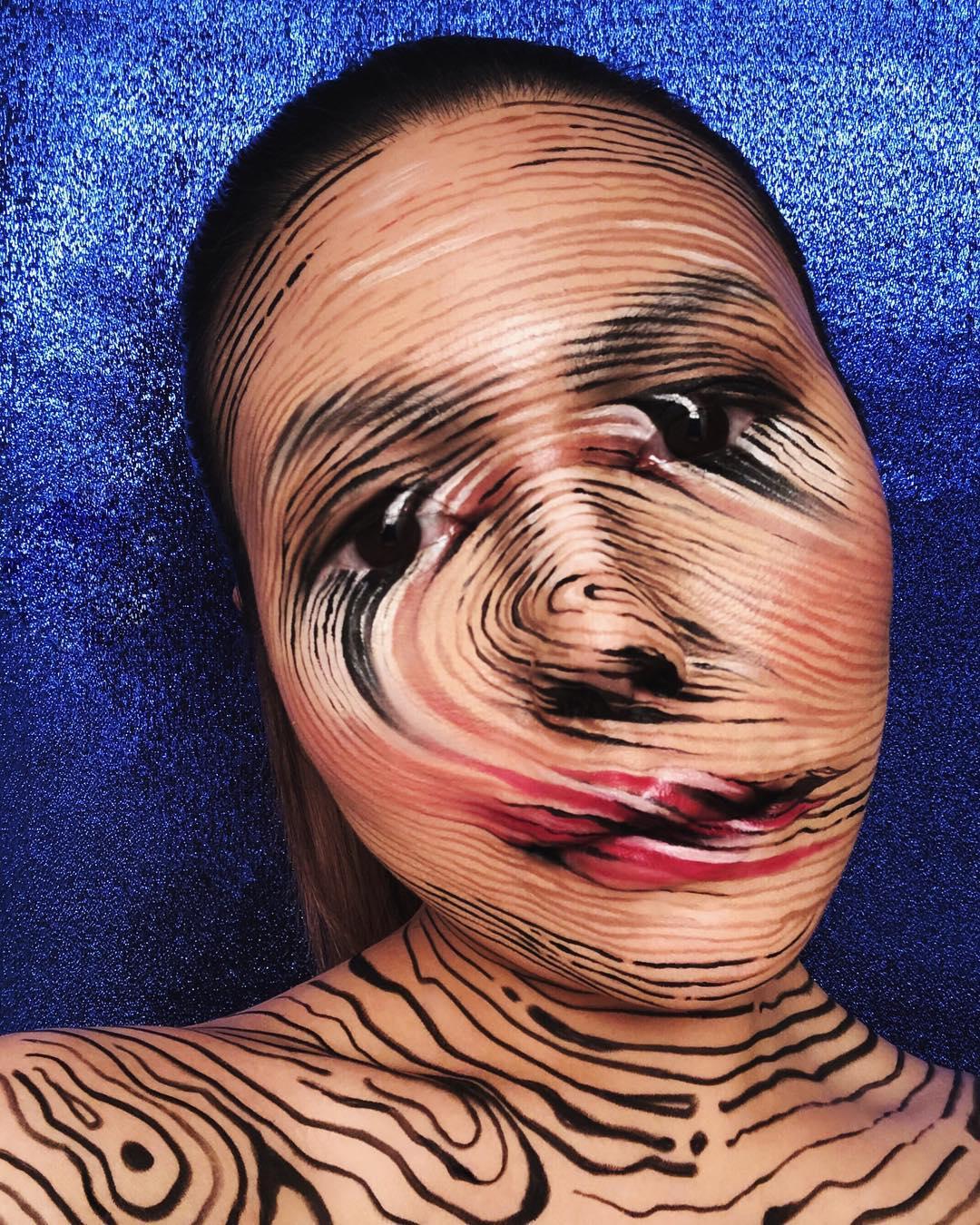 Mimi choi maquillaje ilusion optica (19)