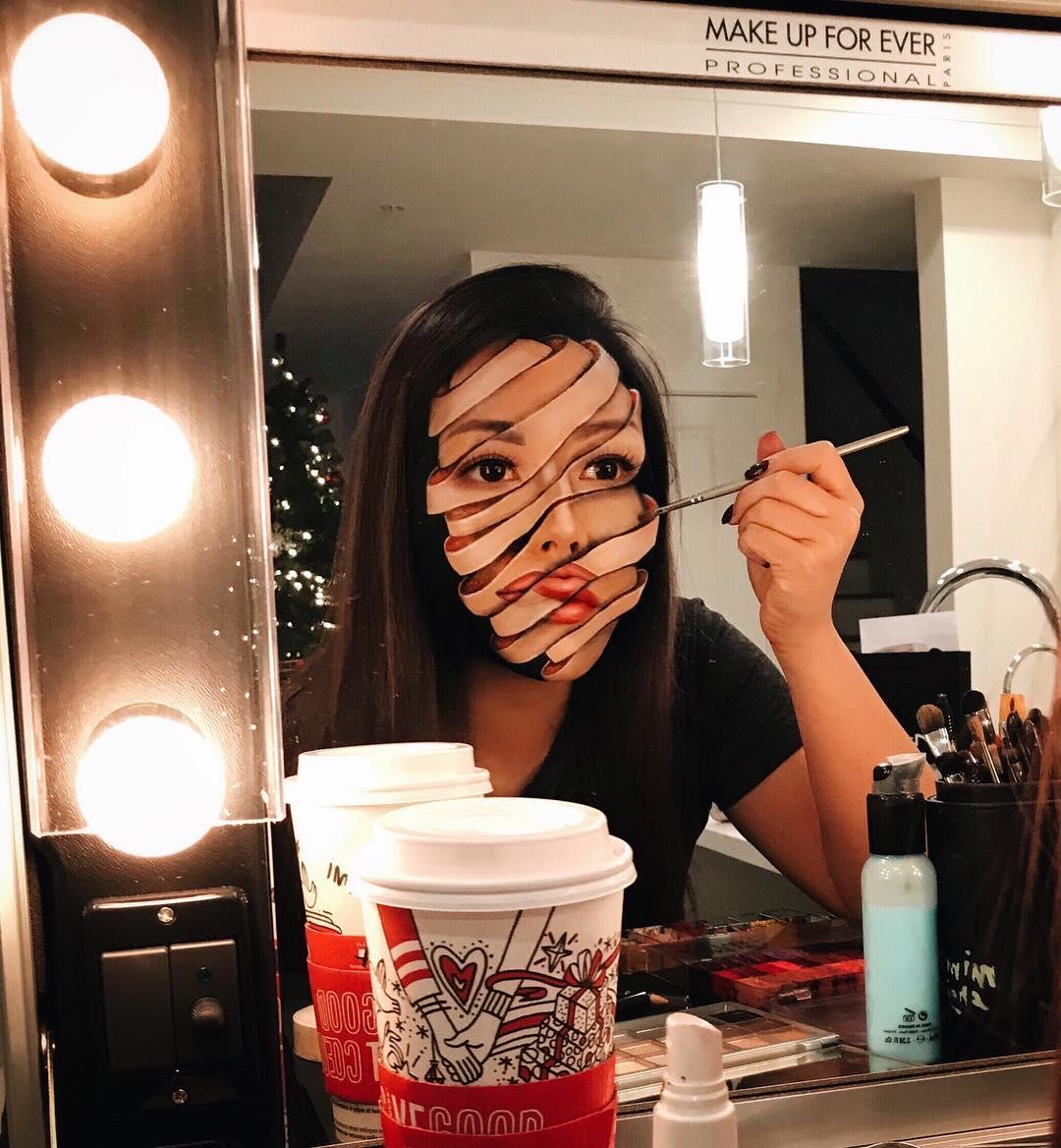 Mimi choi maquillaje ilusion optica (2)