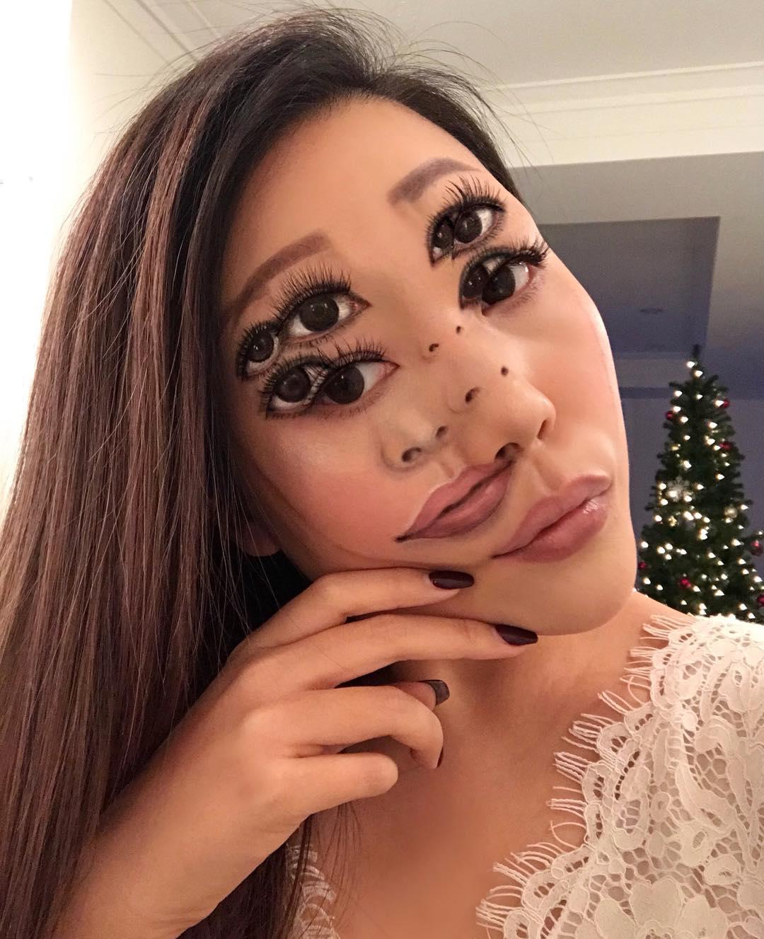 Mimi choi maquillaje ilusion optica (4)