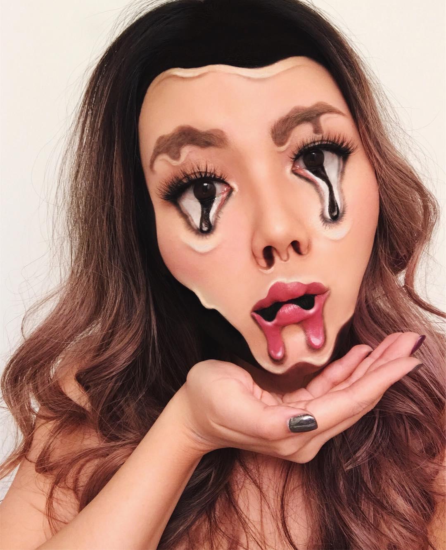 Mimi choi maquillaje ilusion optica (5)