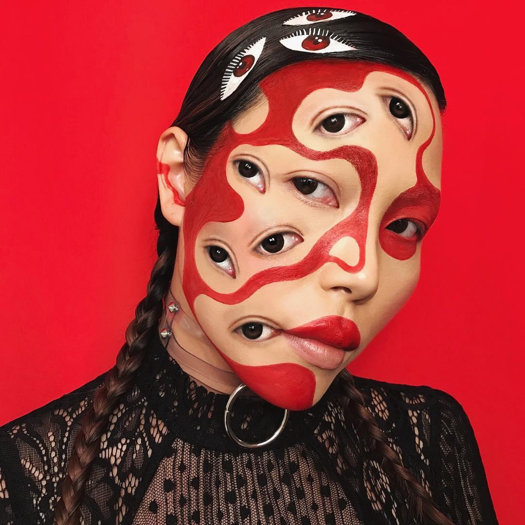 Mimi choi maquillaje ilusion optica (8)