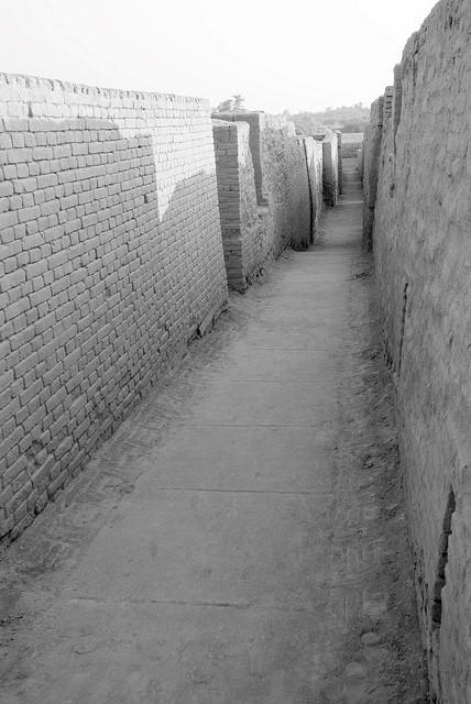 Mohenjo daro callejuelas
