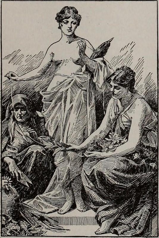 Moiras griegas