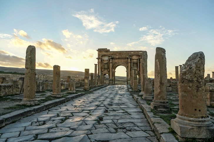 Timgad arco del triunfo