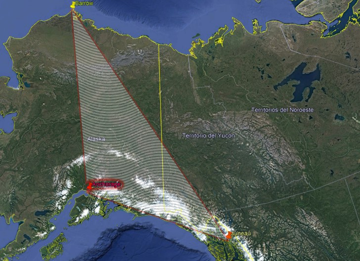 Triángulo de alaska,