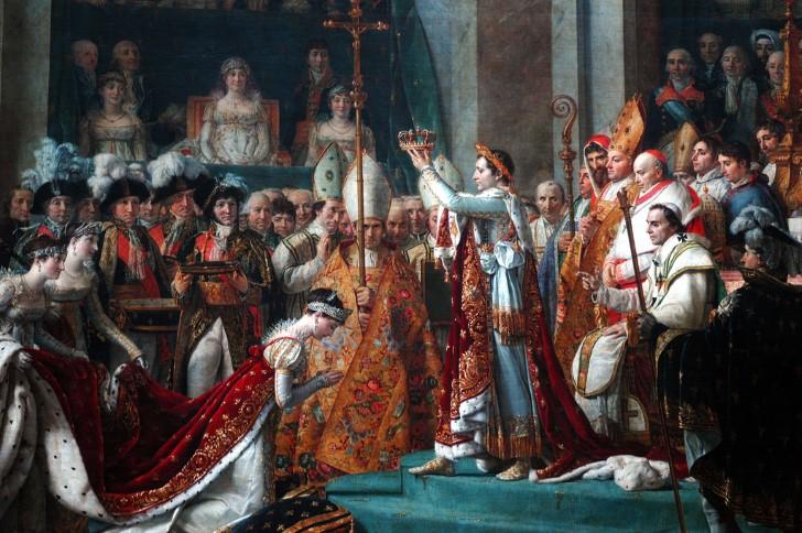 Coronacion de josefina por napoleon