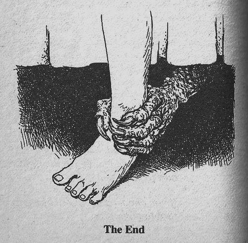 El fin monstruo bajo la cama