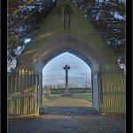 Entrada al cementerio colegio de san patricio