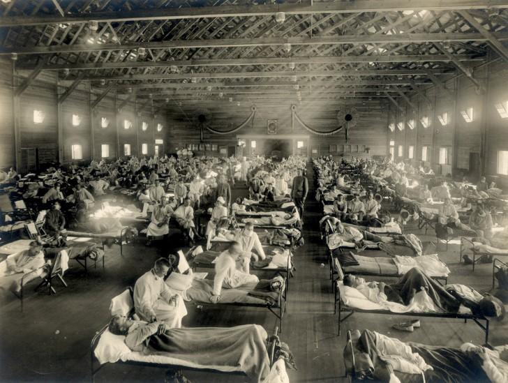 Epidemia hospital improvisado