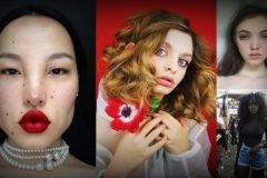 Mujeres belleza inusual