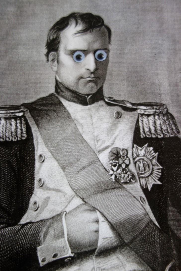 Napoleon ojos locos