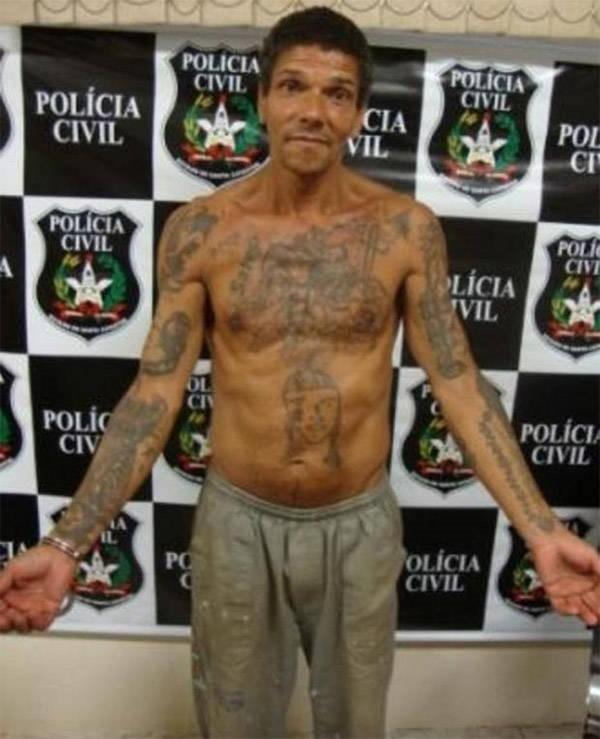 Pedro rodrigues filho prision tatuajes