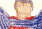 Alex ross dibujo superman a los 8 años