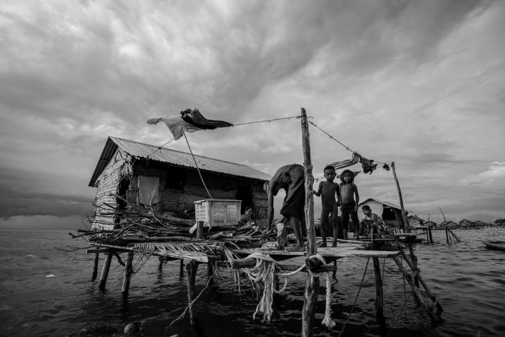 Bajau casa mar
