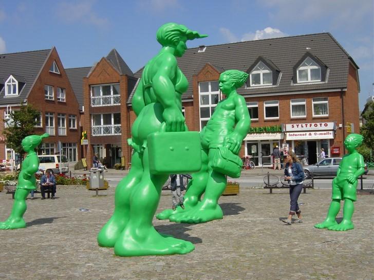 Sylt monumento gigantes verdes