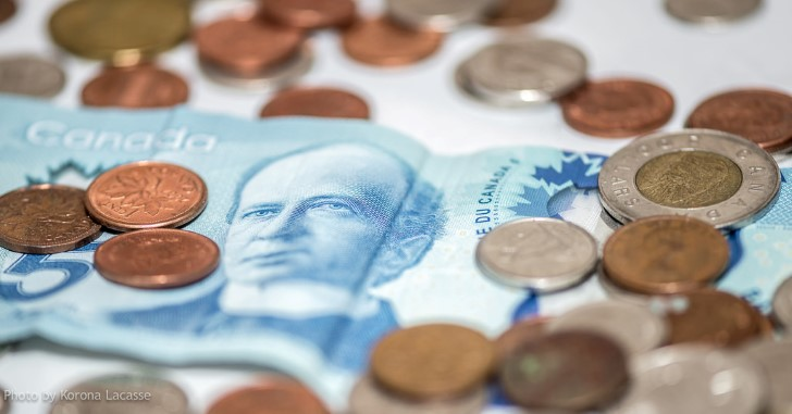 Dinero canadiense