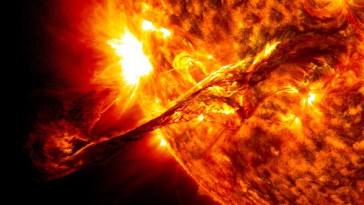 Erupcion solar