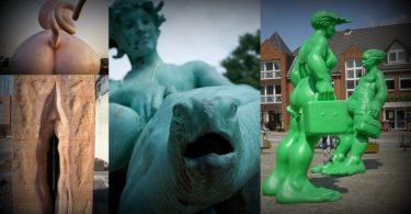 Estatuas feas portada