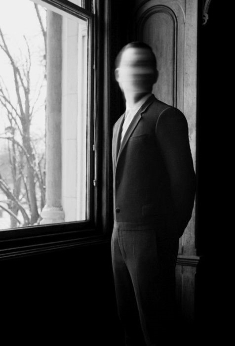 Hombre sin rostro