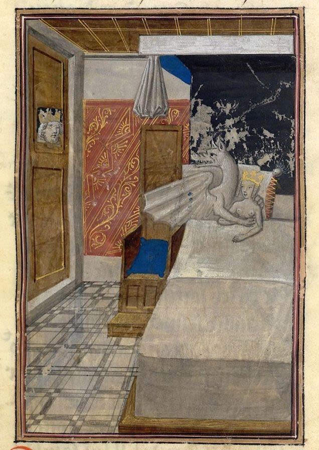 Ilustraciones curiosas obras medievales (3)