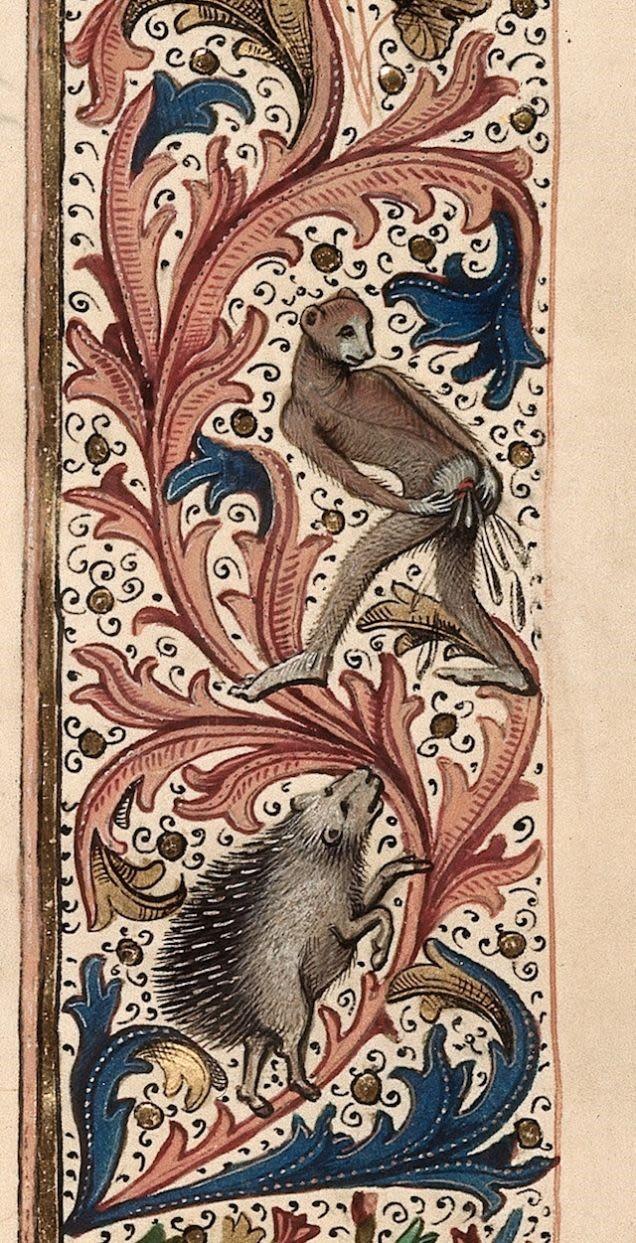 Ilustraciones curiosas obras medievales (4)